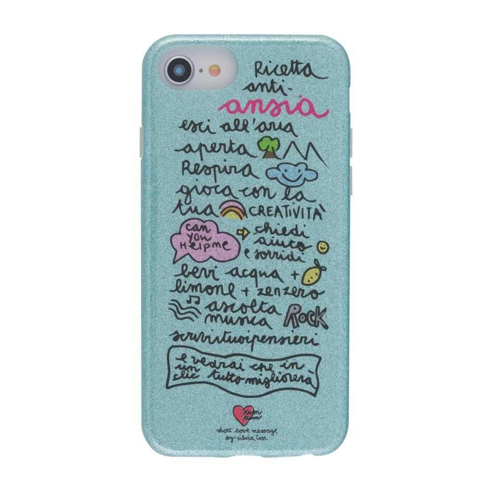 Cover Short Love By Message - Glitter Ansia - iPhone 6, 6S, 7, 8 ...